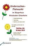 Kindersachenflohmarkt des Förderverein KiTa Erbenheim e.V.