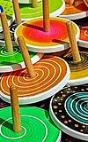 Holzkreisel und Fangspiel
