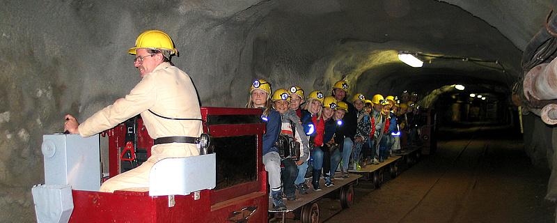Besucherbergwerk Grube Fortuna