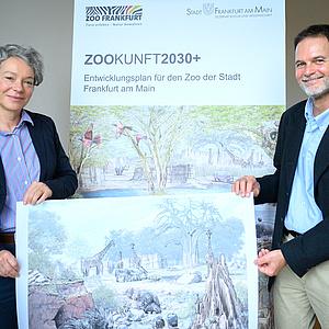 Neugestaltung des Zoo Frankfurt