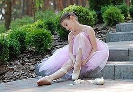 Ballettübungen für Kinder
