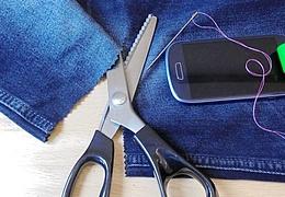 Tarnkappe für Dein Smartphone - Bastelanleitung für zu Hause