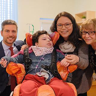 Ingo Zamperoni ist neuer Botschafter für schwerstkranke Kinder