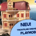 Playmobil- Workshop im Trickfilmstudio