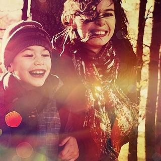 Waldbesuche tun Kindern gut