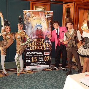 Der Great Christmas Circus bietet eine spektakuläre Jubiläumsshow