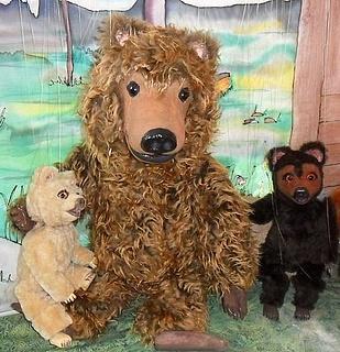 Vater Bär und seine zwei Lausbuben