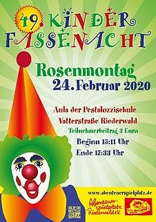 Helau! Rosenmontag in der Pestalozzischule im Riederwald