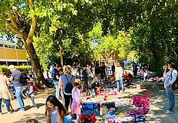 Großer Deckenflohmarkt