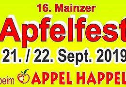 16. Mainzer Apfelfest