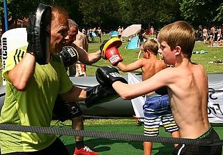 FamilienSportFest im Brentanobad