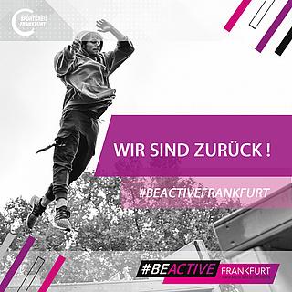 #BEACTIVE - Europäische Woche des Sports in Frankfurt