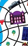 Pünktchen und Antons Stadtplanspiel