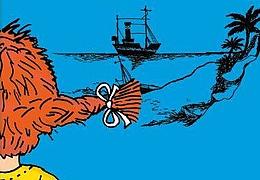Pippi auf den sieben Meeren