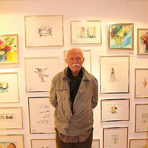 Janosch besucht die Art Gallery