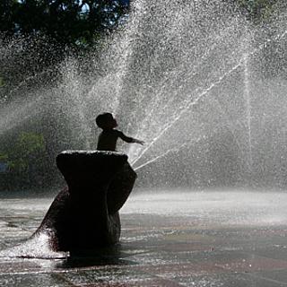 Wasserspielplatz 'Im Tannenwald' wieder geöffnet