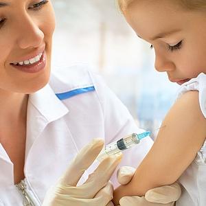 Grippeschutzimpfung für Kinder