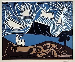 Auf den Spuren von Picasso. Experimenteller Druckworkshop