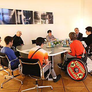 Oberbürgermeister Feldmann lud erstmals zur Jugendsprechstunde