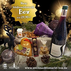 Die Weihnachtsmarkt Box bringt Euch Adventszauber nach Hause