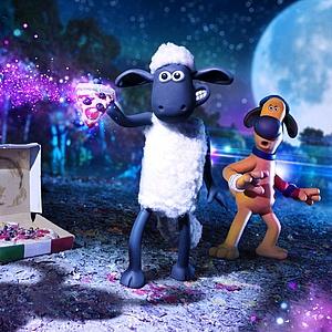 Shaun das Schaf blökt wieder auf der Leinwand