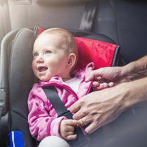 Baby an Bord – Sicherheit geht vor!