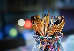 Malen und Gestalten an einem besonderen Ort