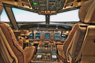 Flugstunden im Flugsimulator