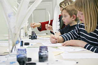 Familien-Führung im Goethe-Haus