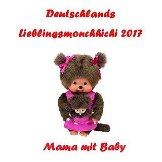 """Mama mit Baby ist Deutschlands """"Lieblingsmonchhichi 2017"""""""