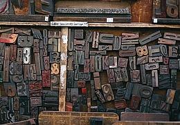 Druckwerkstatt Typografie