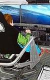 Kiddy-Sim -  Der Flugsimulator für Kinder im Frankfurter Flughafen