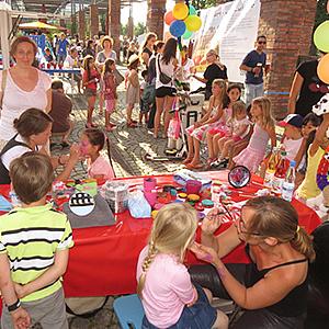 Chillen und rocken beim Stadtteilfest
