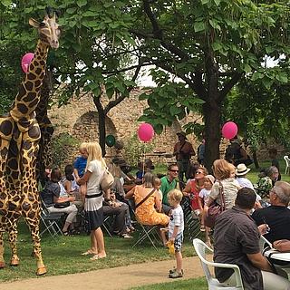 Familien feierten auf Schloss Vollrads