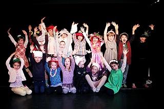 Kinder-Silvester-Party