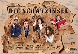 25. Mainzer Kindertheaterfestival - Die Schatzinsel