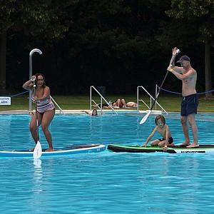 Das FamilienSportFest präsentiert Sport zu Land, zu Wasser und in der Luft