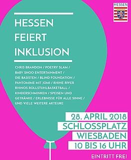 Inklusion (er)leben - Hessen feiert Inklusion