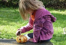 Aktionstag - Halloween-Basteln