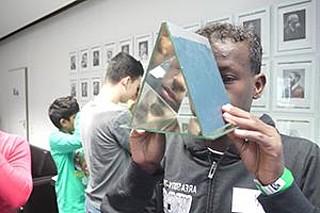Begegnung mit zugewanderten Jugendlichen