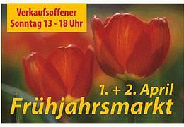 Bürstädter Frühjahrsmarkt