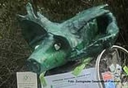 Das GrünGürtel-Tier im Zoo