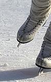 Eislaufen auf der Henkell-Eisbahn