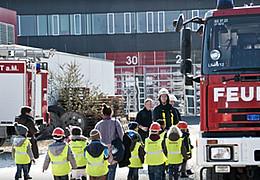 Feuerwehr Frankfurt für Kinder – Ein Actiontag mit Branderziehung