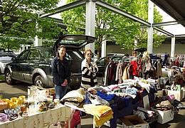 Flohmarkt in Frankfurt-Kalbach