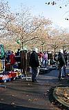 Flohmarkt in Frankfurt-Rödelheim
