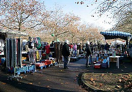 Flohmarkt ind Griesheim