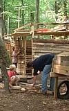 Hüttenbauaktion
