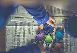 Kreativ-Werkstatt - Zauberbilder im Herbst