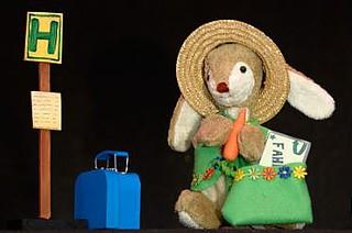 Kuschel will Urlaub machen